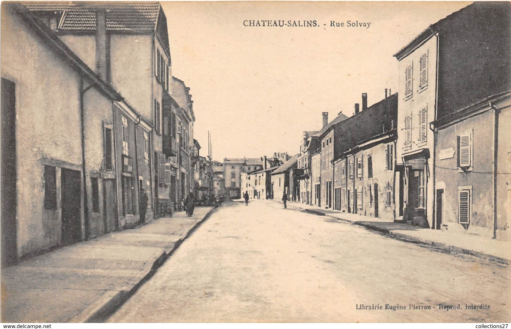 57-CHATEAU-SALINS- RUE SOLVAY - Chateau Salins
