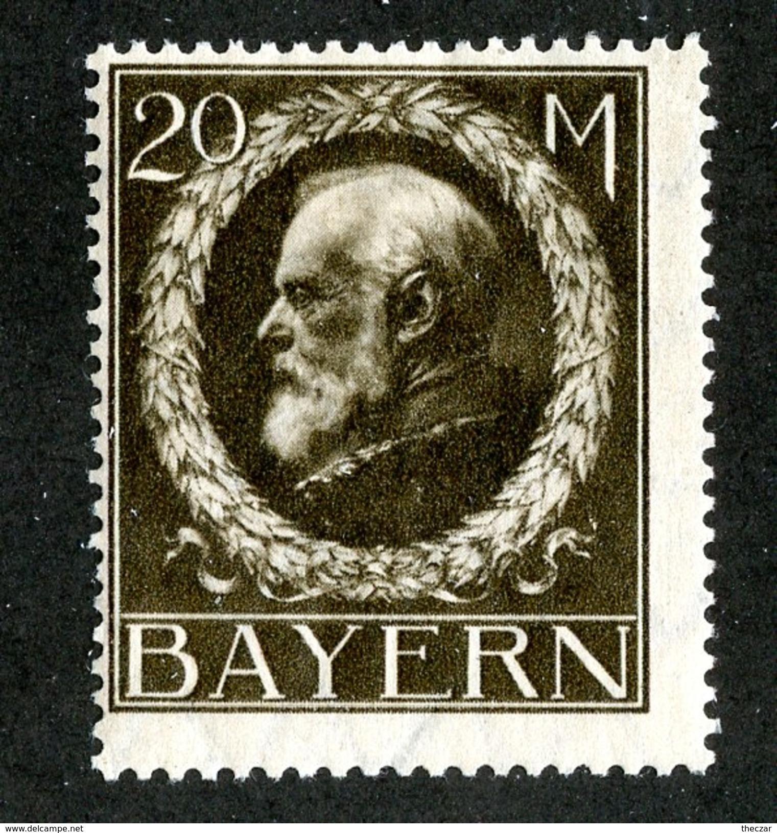 16137  Bayern 1919  Michel #109 I* ( Cat 26.€ ) Offers Welcome - Bayern