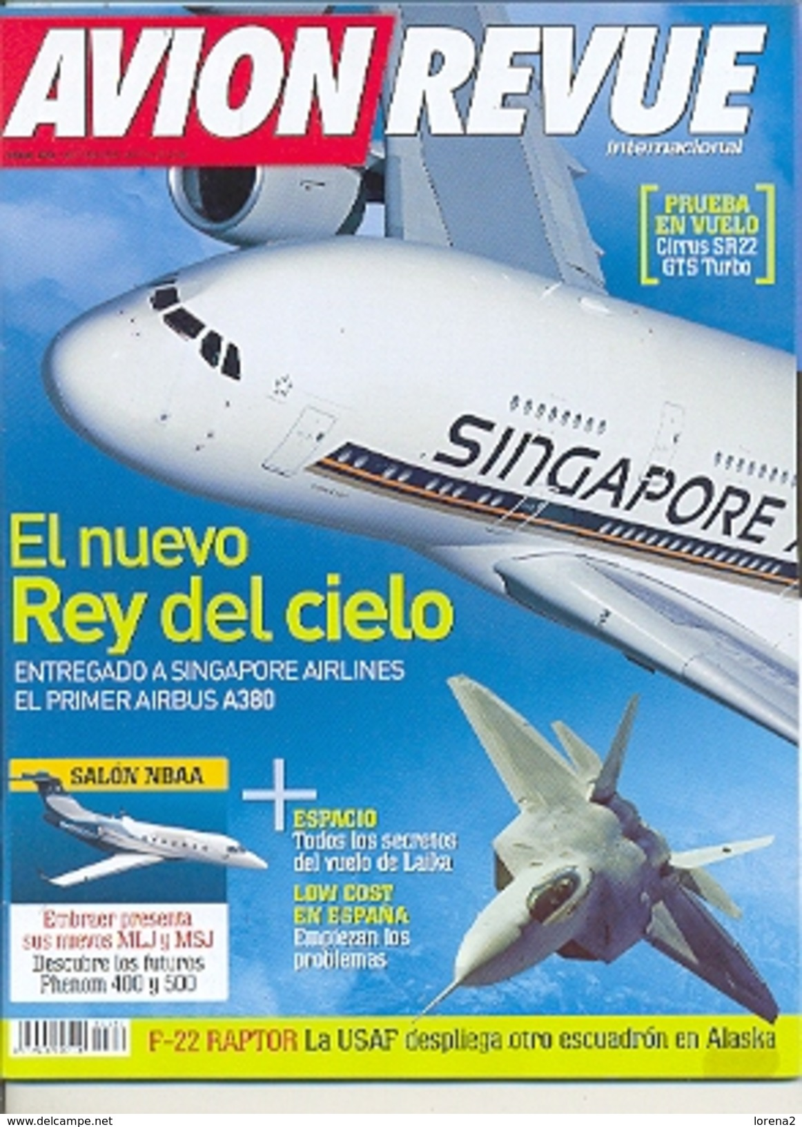 Revista Avion Revue Internacional. Nº 305. (ref.avirev-305) - Aviación