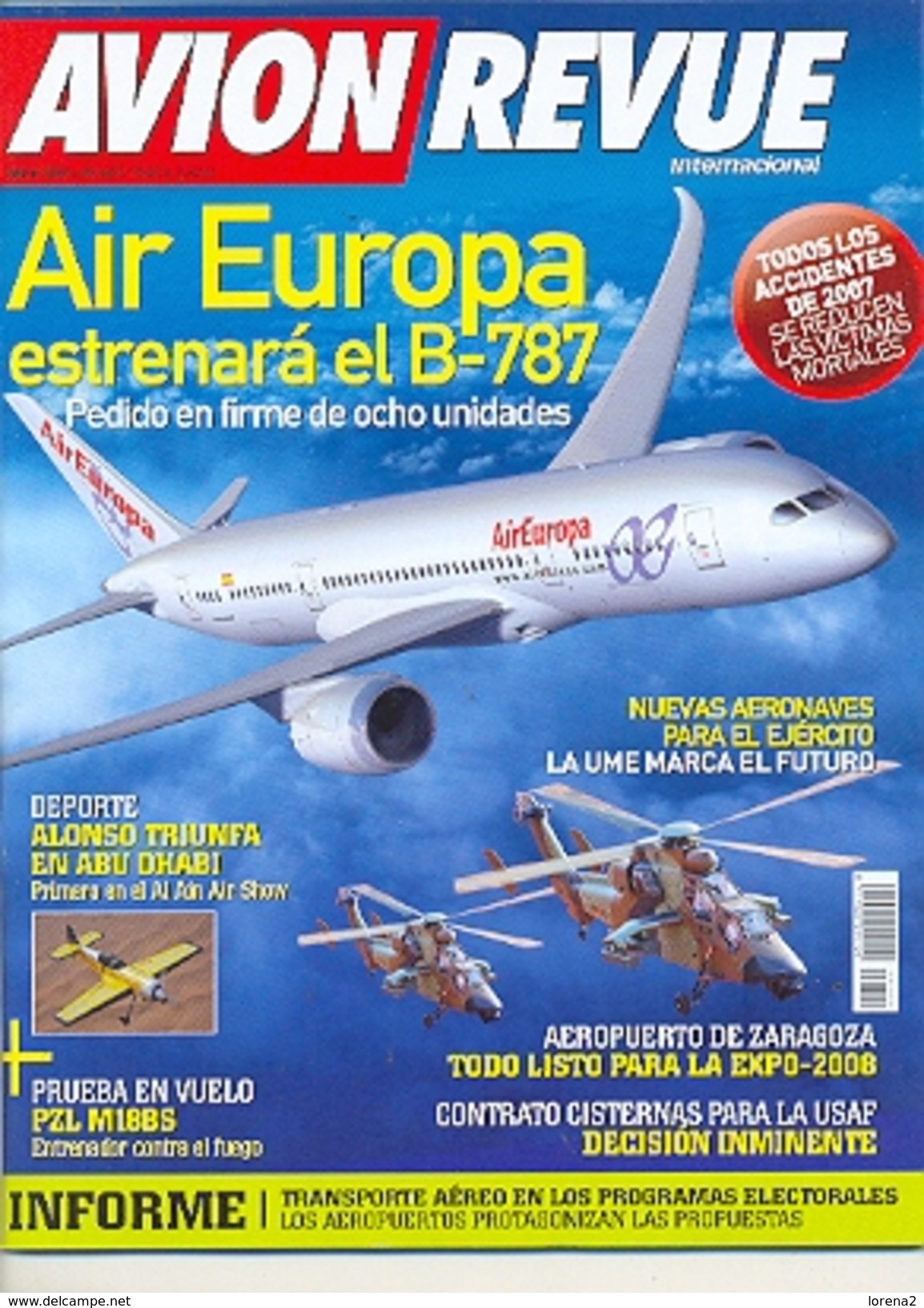 Revista Avion Revue Internacional. Nº 309. (ref.avirev-309) - Aviación