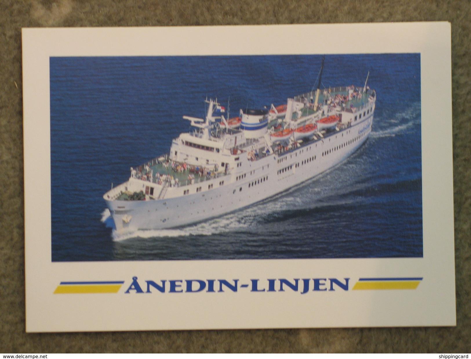 ANEDIN-LINJEN FERRY FOLDER - Ferries