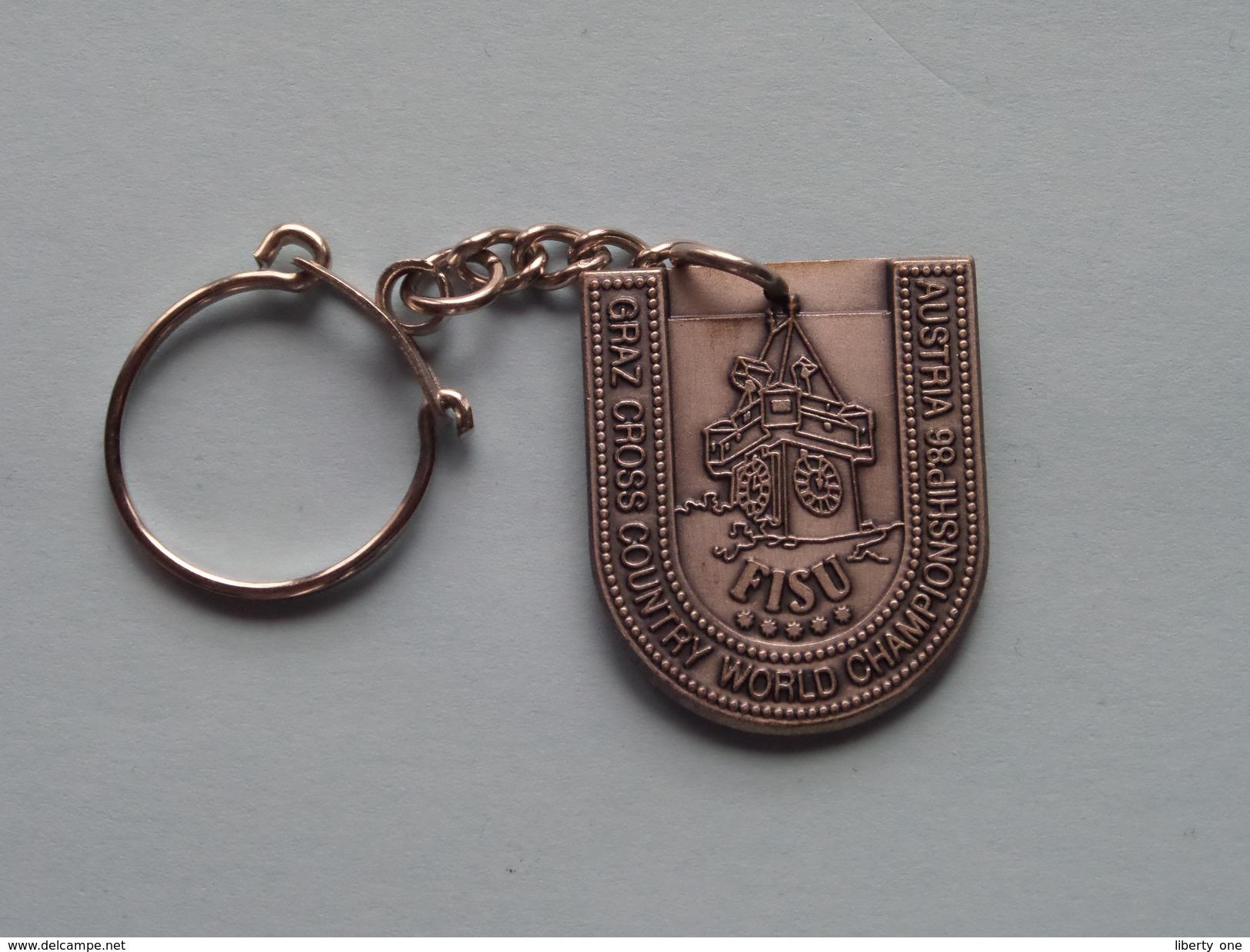 AUSTRIA World Championship '86 Graz CROSS Country ( Key Chain - Porte Clé / Sleutelhanger / Zie Foto ) ! - Jeux Olympiques