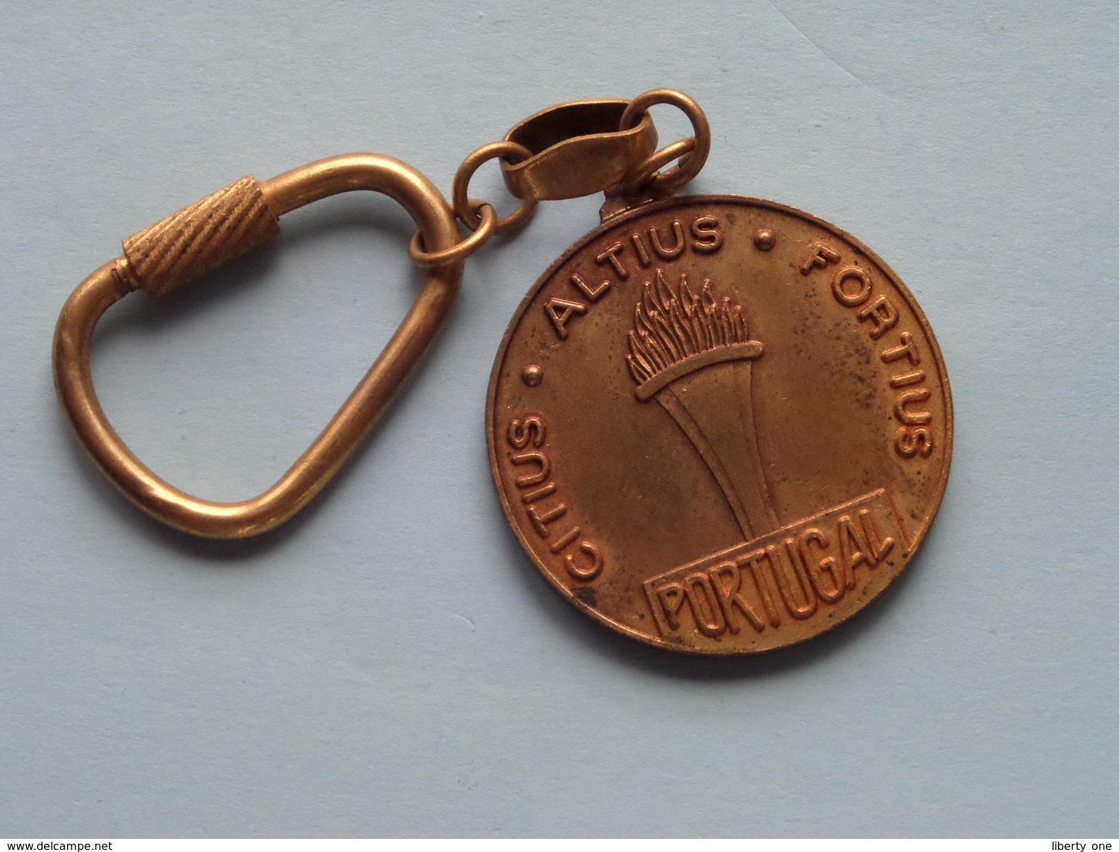 Comité Olimpico PORTUGUES ( Key Chain - Porte Clé / Sleutelhanger / Zie Foto ) ! - Olympische Spelen