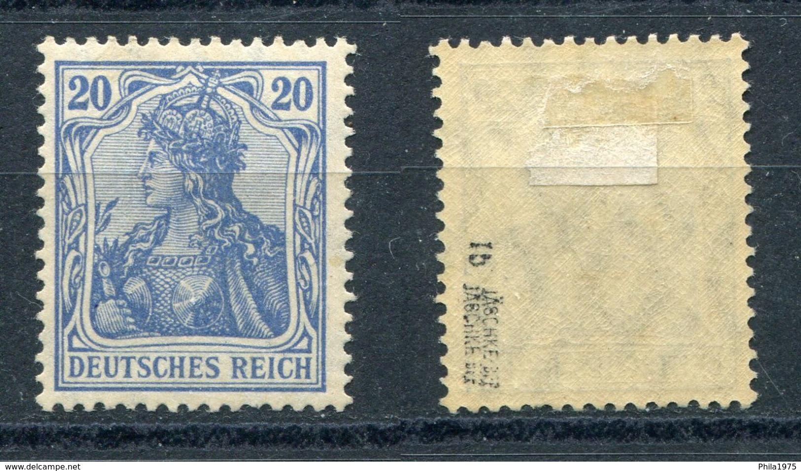 Deutsches Reich Michel-Nr. 87Ib Ungebraucht - Geprüft - Ungebraucht