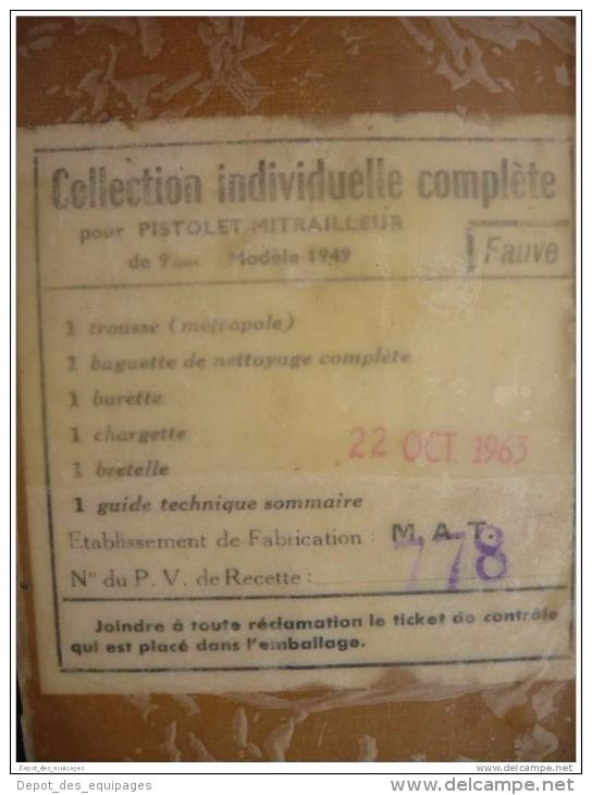 NECESSAIRE P.M. MAT-49 En BOITE  Années 1960 ......JAMAIS OUVERT De STOCK ! - Equipaggiamento