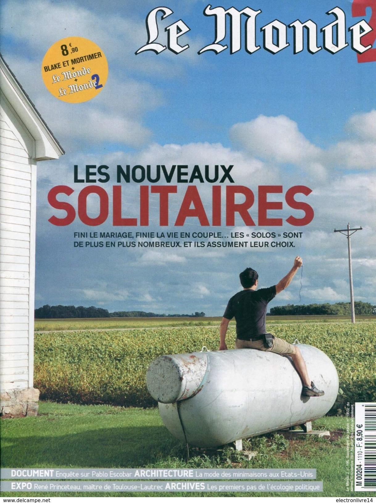 Lot De 9 Supplement Du Monde Avec Tous Un Article Sur Blake  Et Mortiner Dans Les Revues - Books, Magazines, Comics