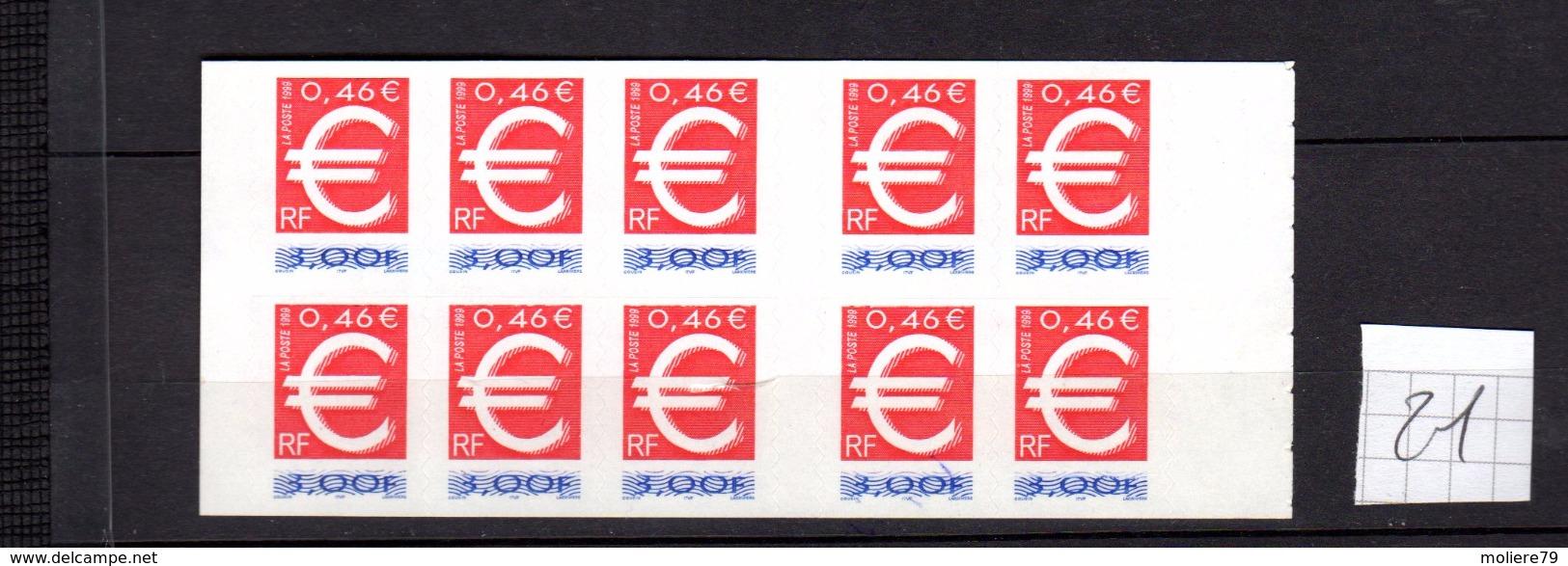 Carnet BC 3215 C 1 , L'EURO NEUF, - Commémoratifs