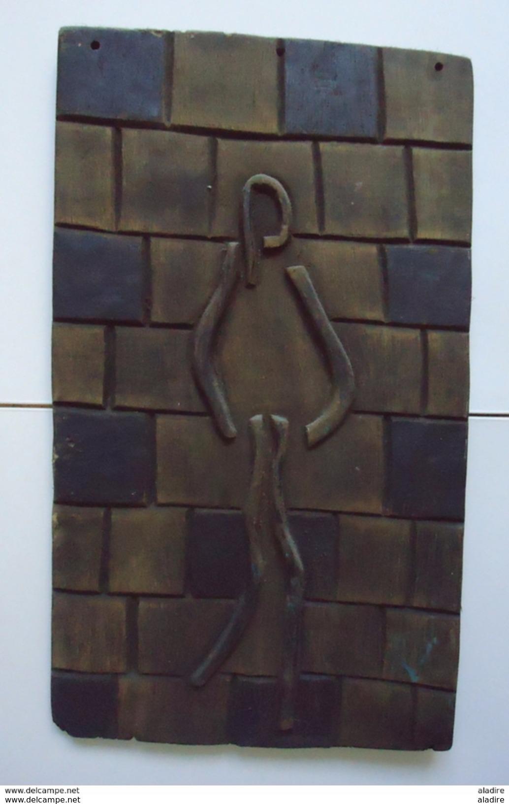 Mohamed Kifumu, Planche, Congo - Afrique Centrale 2002 - Largeur 29 Cm - Hauteur 50 Cm - Poids 1600 Grammes - Art Africain