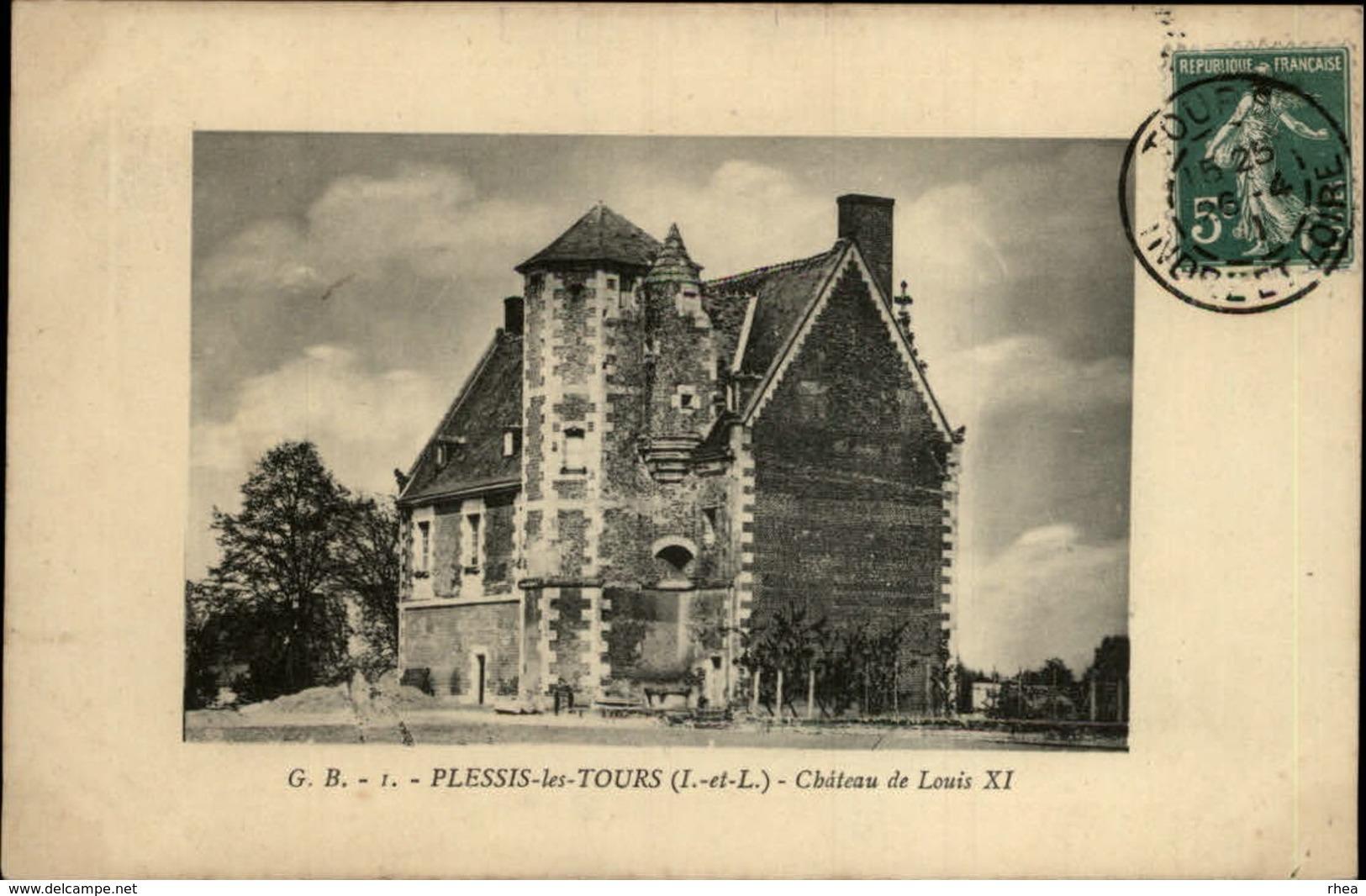 37 - PLESSIS-LES-TOURS - Chateau - France