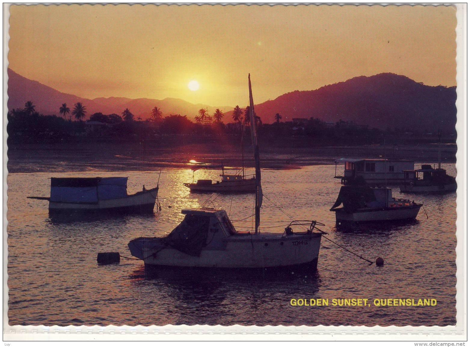 QUEENSLAND - Golden Sunset,  Nice Stamp - Australia