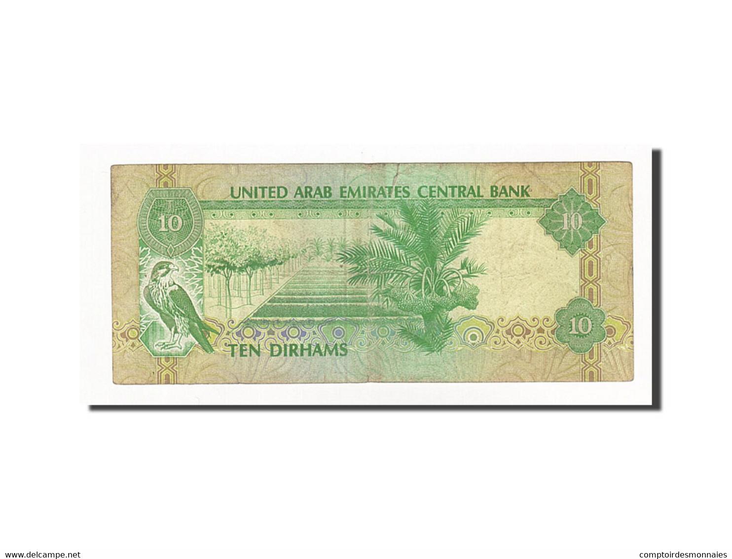 United Arab Emirates, 10 Dirhams, Undated (1982), KM:8a, TTB - Emirats Arabes Unis