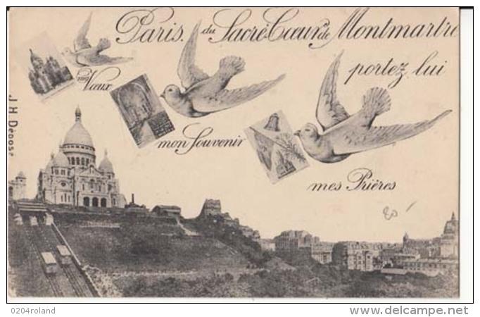 Dep  75 - Paris Du Sacré Coeur De  Montmartre    : Achat Immédiat - Autres