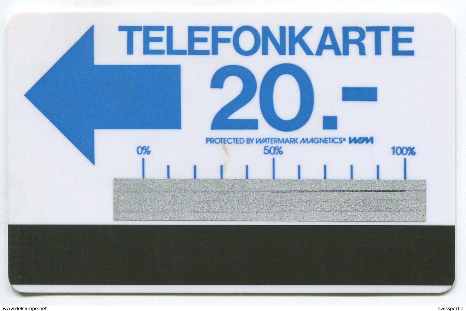 1638 - Testgebiet Telefonkarte - Autelca Blau - Schweiz