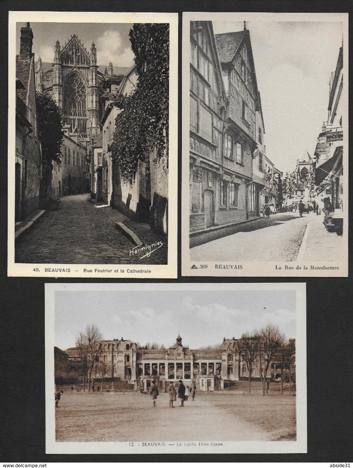 BEAUVAIS - Lot De 5 Cartes - Beauvais