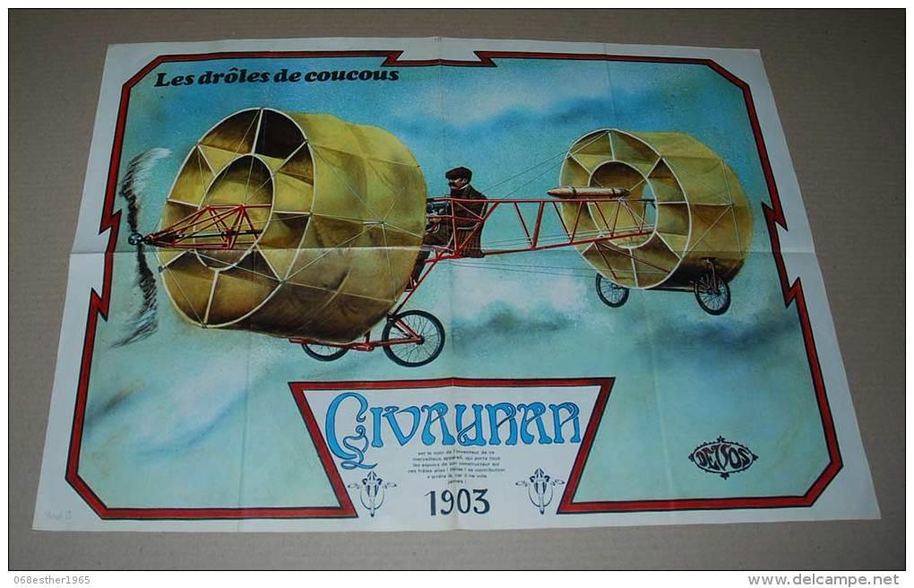 Supplément Spirou Du N° 2148 Poster Double Face, Les Drôles De Coucous Et L'avion Northrop T–38 Talon - Spirou Magazine