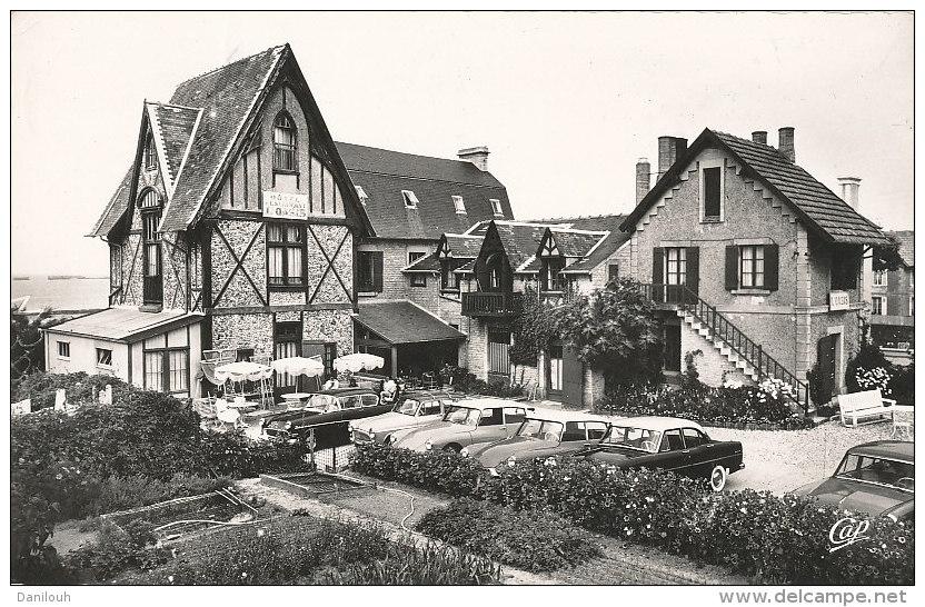 """14 // ARROMANCHES    Hotel Restaurant """"l'oasis Sur La Mer""""  CPSM Petit Format 1809 Real Photo - Arromanches"""