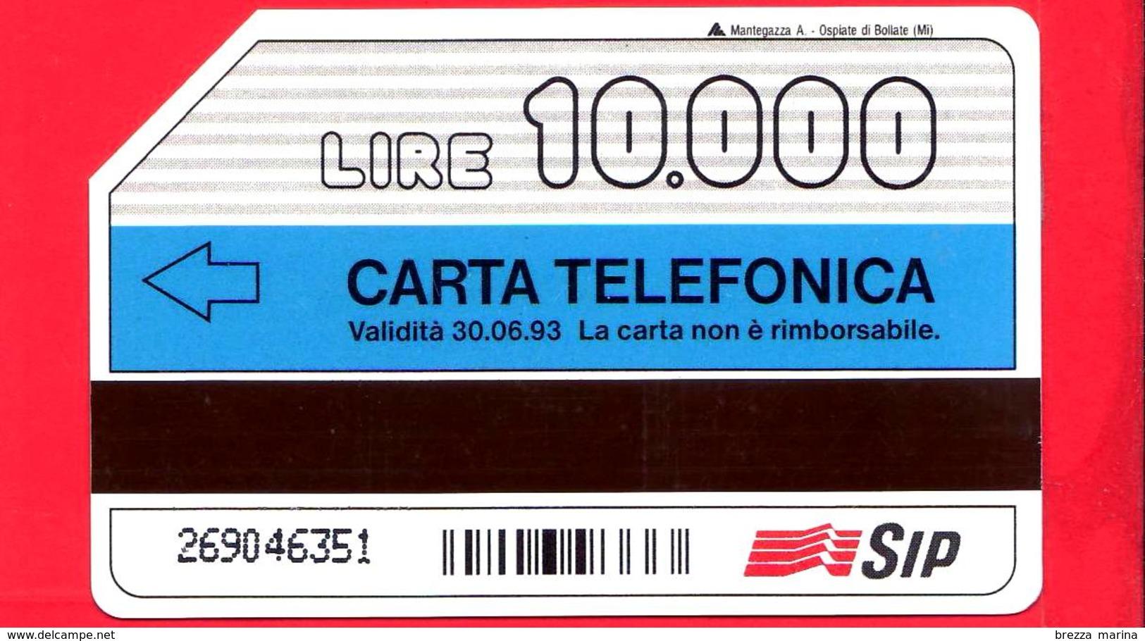 ITALIA - Scheda Telefonica - SIP - Usata - Natale 1991 - Giotto - C&C 2246 - Golden 189 - Pubbliche Speciali O Commemorative