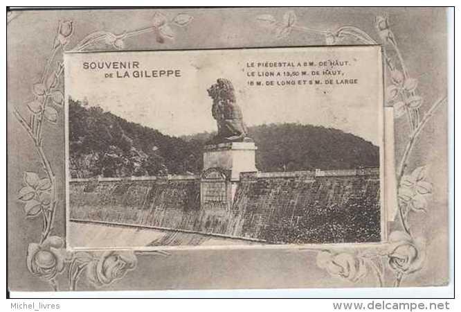Carte à Système - Souvenir De La Gileppe - Circulé En 1912 - TBE - C - Jalhay