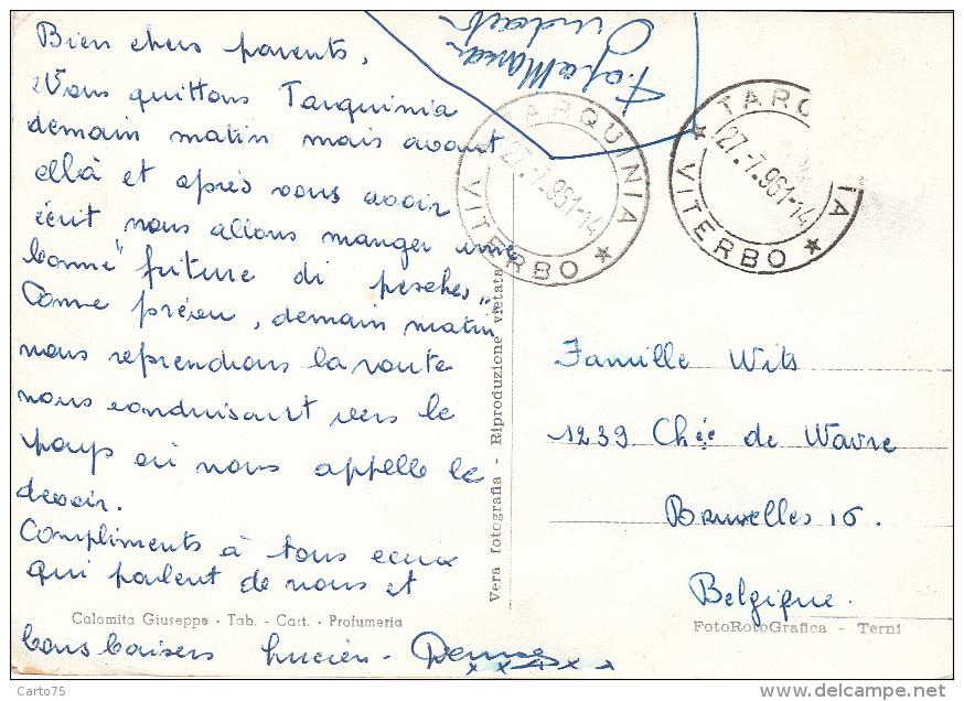 Italie - Saluti Da Tarquinia - 1961 - Viterbo