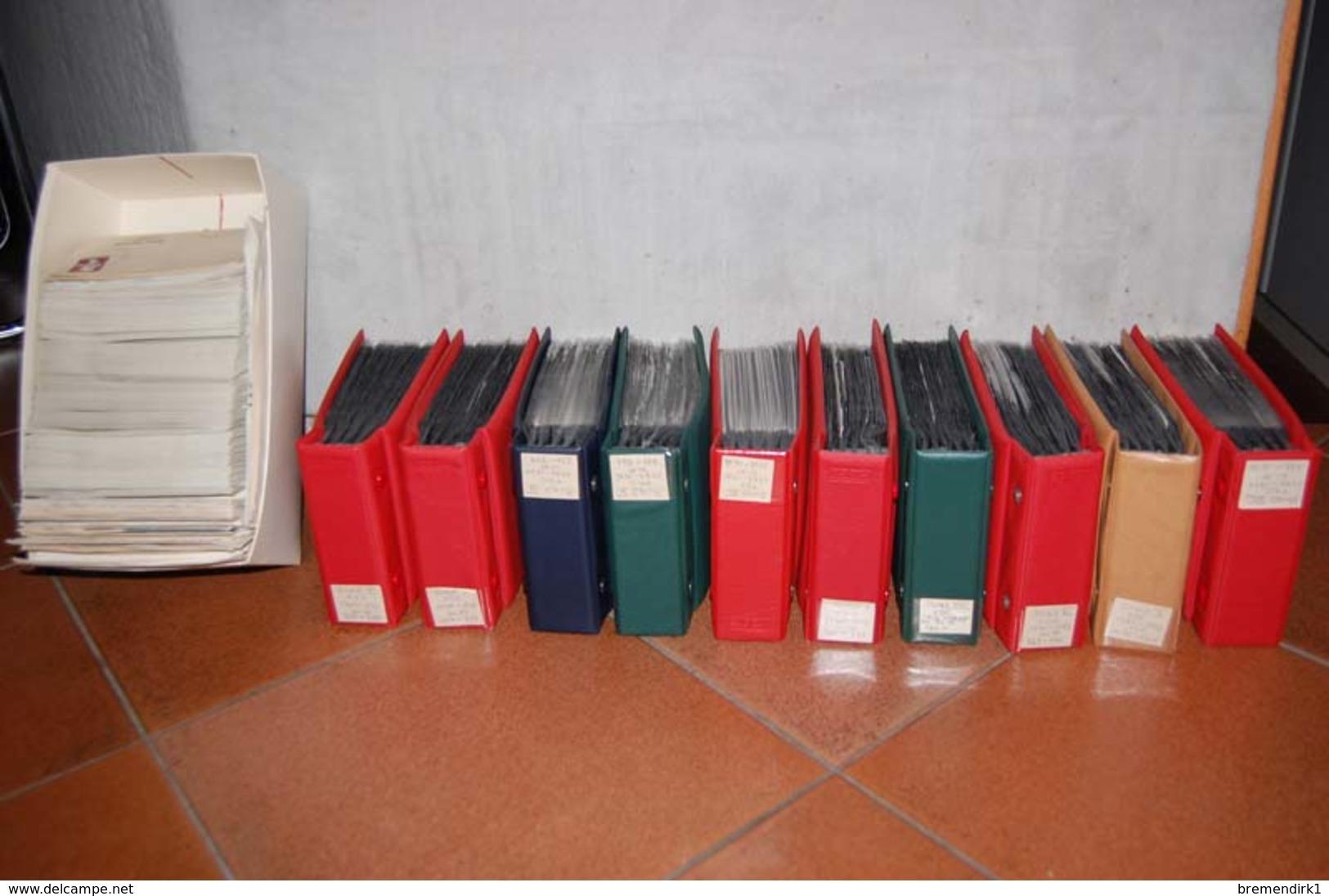 Deutschland - Große Kiste Mehrere Tausend Briefe, FDC Etc. In 10 Alben + Karton, 380 Bilder  ....129 (E) - Timbres