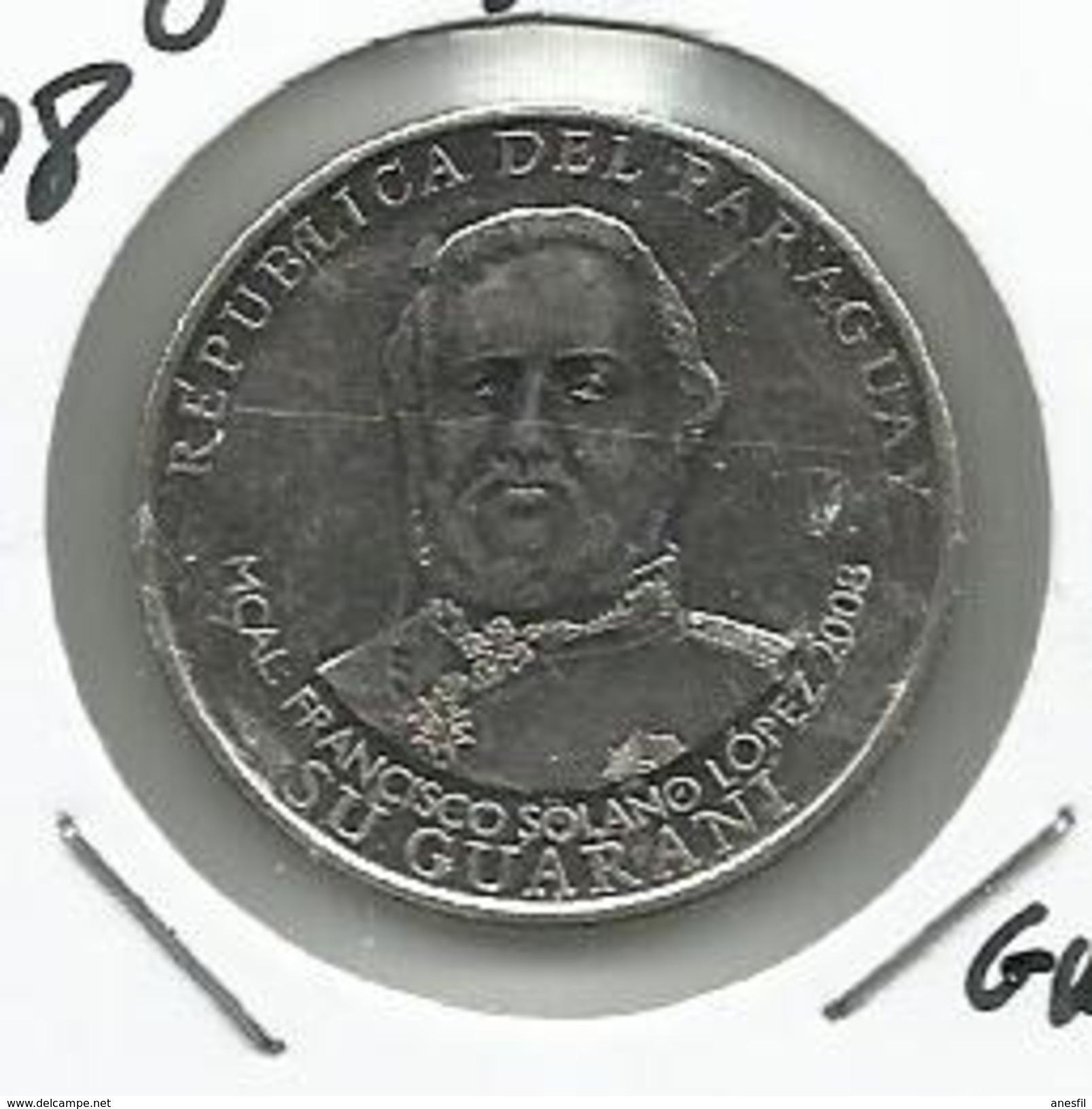 Paraguay_2008_1000 Guaranies. KM 198 - Paraguay