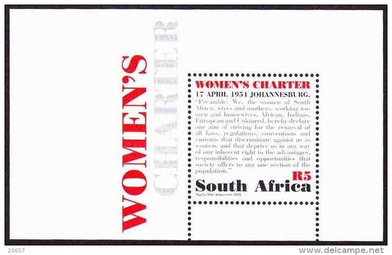 AFRIQUE DU SUD  South Africa Bf 148 Femmes - Neufs