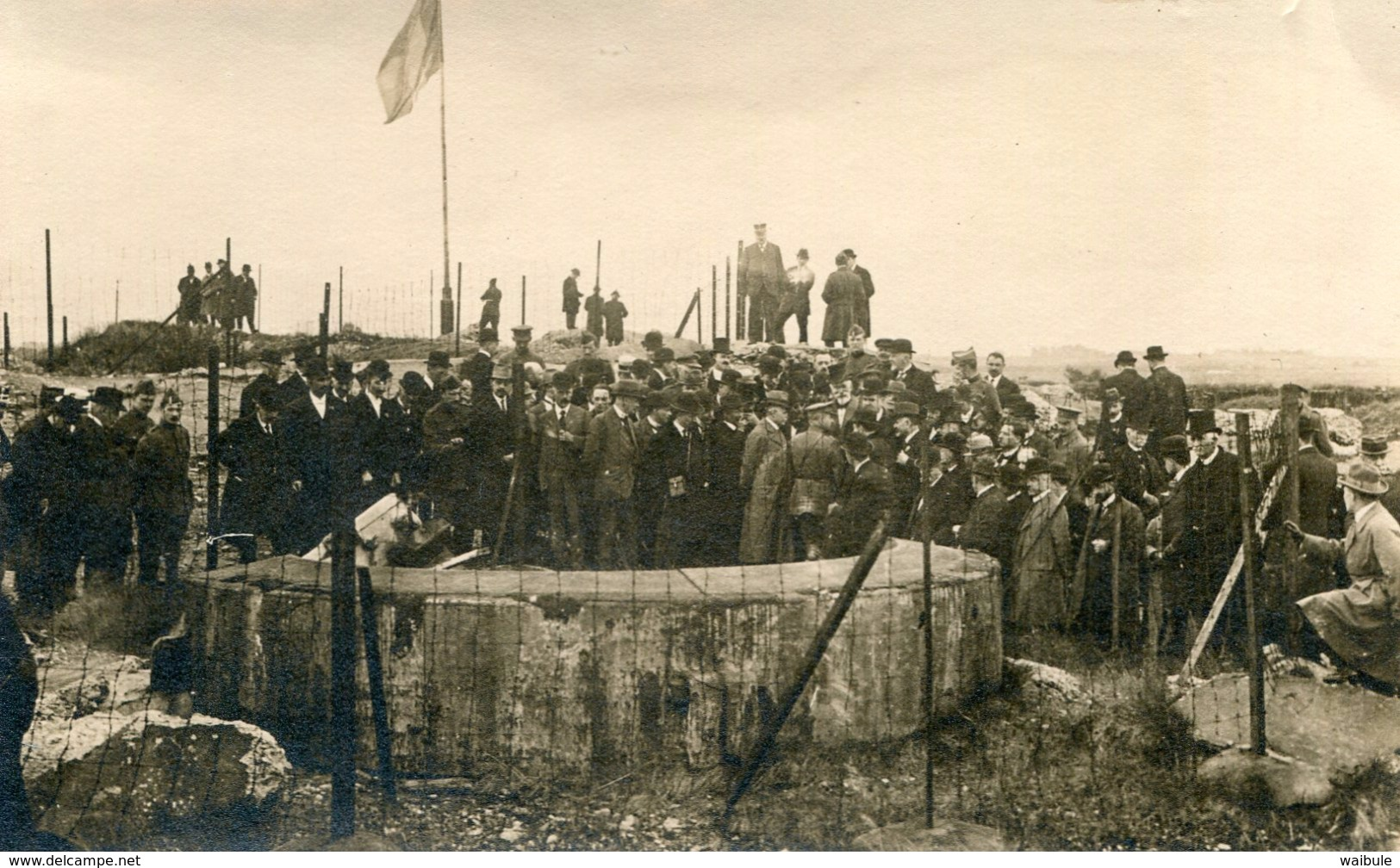 Fort De Loncin 1919 Présence Du Roi Albert, Reine Elisabeth Conseiller Farnçais Photo Carte Général Foch - Other