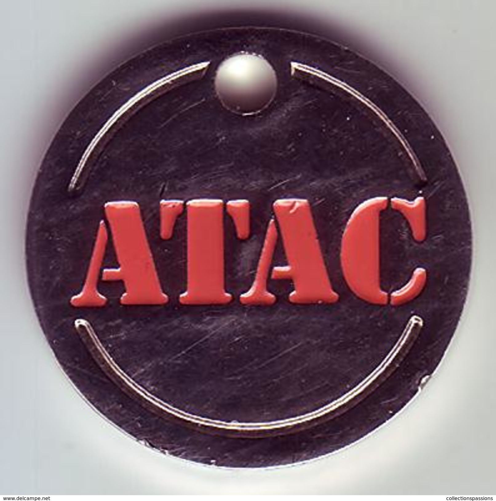 - Jeton - ATAC - - Jetons De Caddies