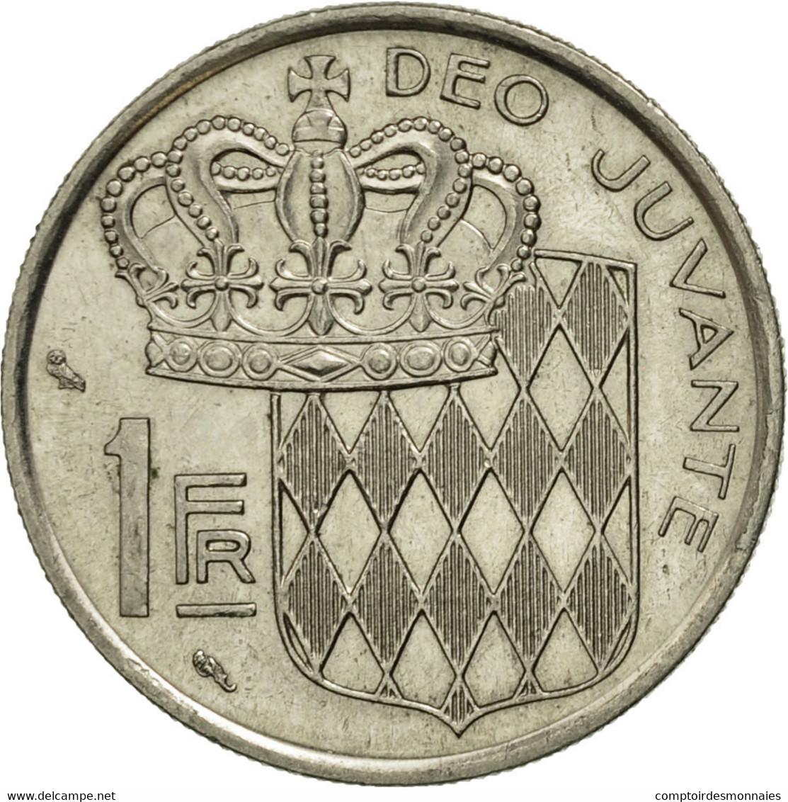 Monaco, Rainier III, Franc, 1966, TTB+, Nickel, KM:140, Gadoury:MC 150 - Monaco