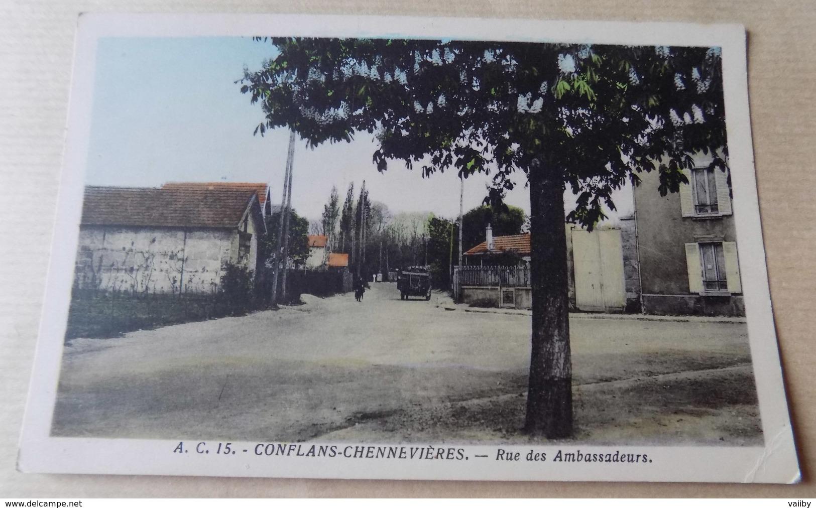 CONFLANS-CHENNEVIERES - Rue Des Ambassadeurs - Conflans Saint Honorine