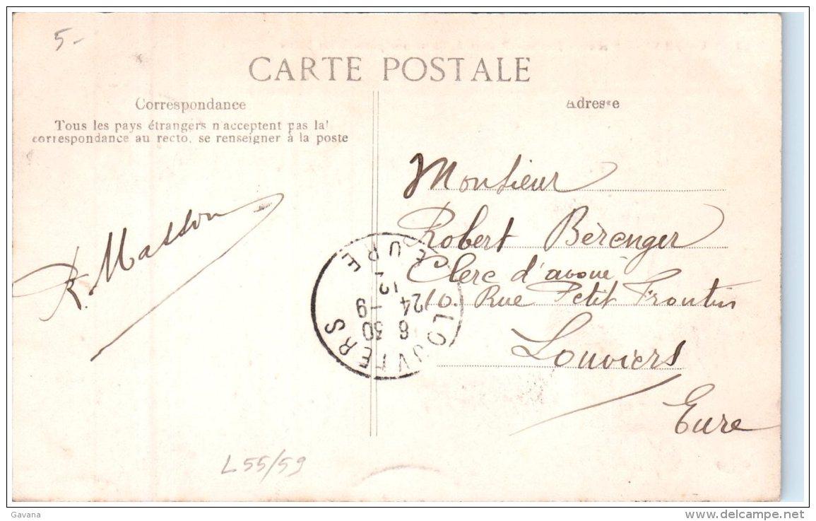 59 CAMBRAI - Nouveau Jardin - Ruines De L'ancienne Porte Saint-Ladre   (Recto/Verso) - Cambrai