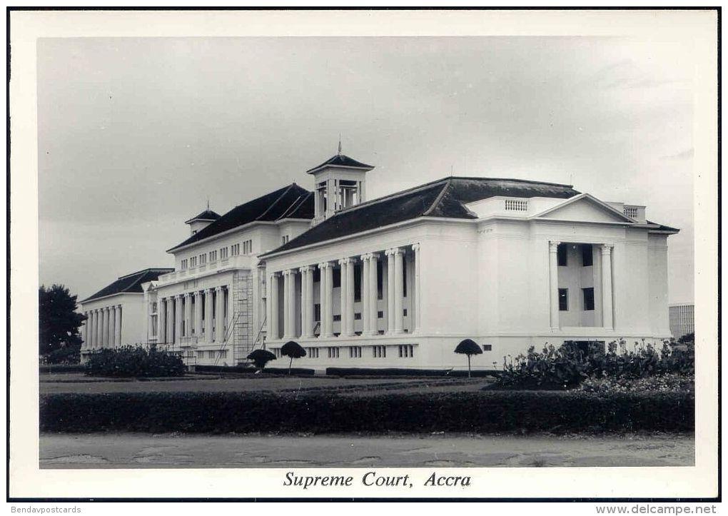 Ghana, ACCRA, Supreme Court (1950s) RPPC - Ghana - Gold Coast