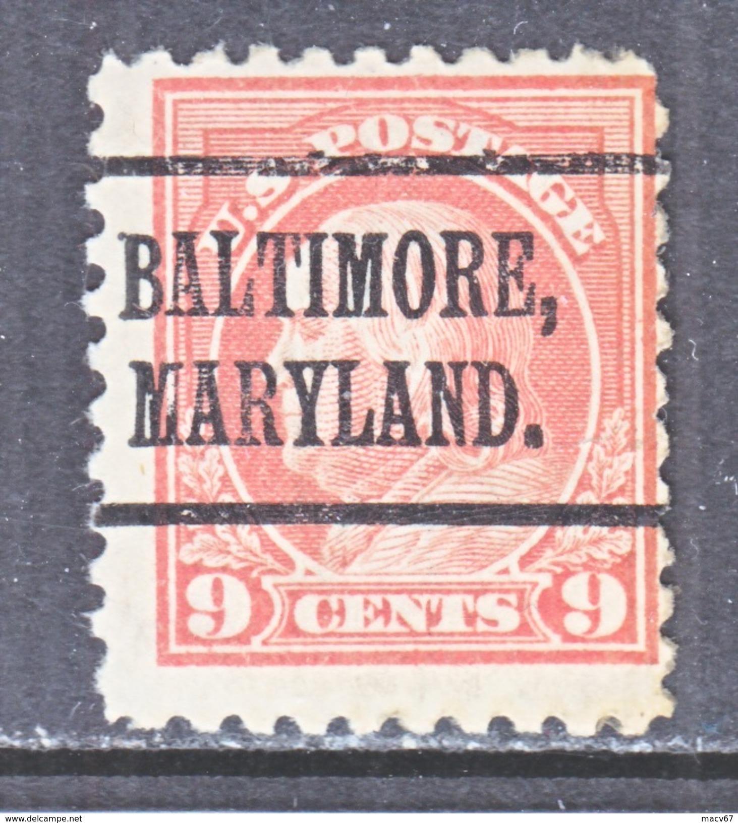 U.S. 471    Perf.. 10  No Wmk.  *  MARYLAND  1916-7 Issue   MINT - United States