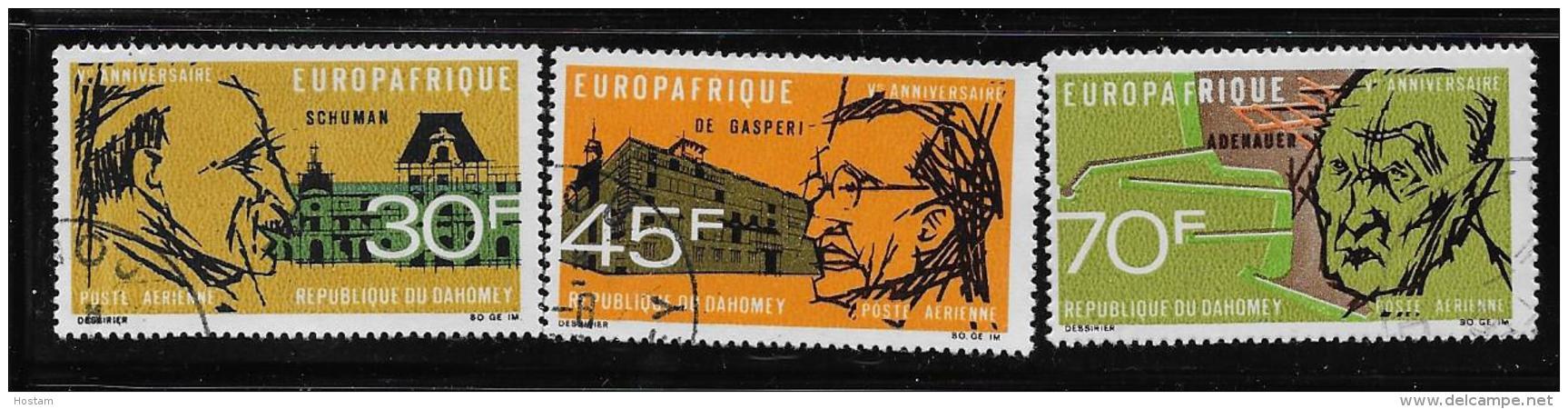 DAHOMEY, 1968, USED  # C74-6, - Bénin – Dahomey (1960-...)