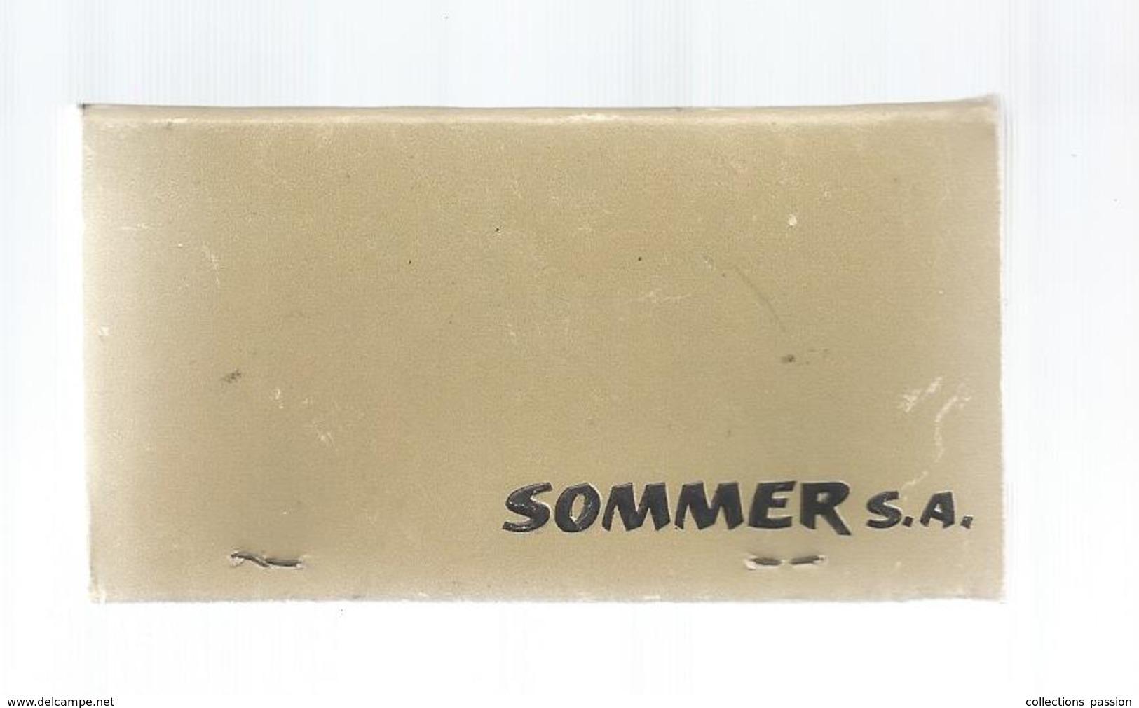 G-I-E, Tabac, MAXI Pochette D'ALLUMETTES, Publicité,  9 X 5 , 2 Scans , SOMMER SA , Sanglier - Matchbox Labels