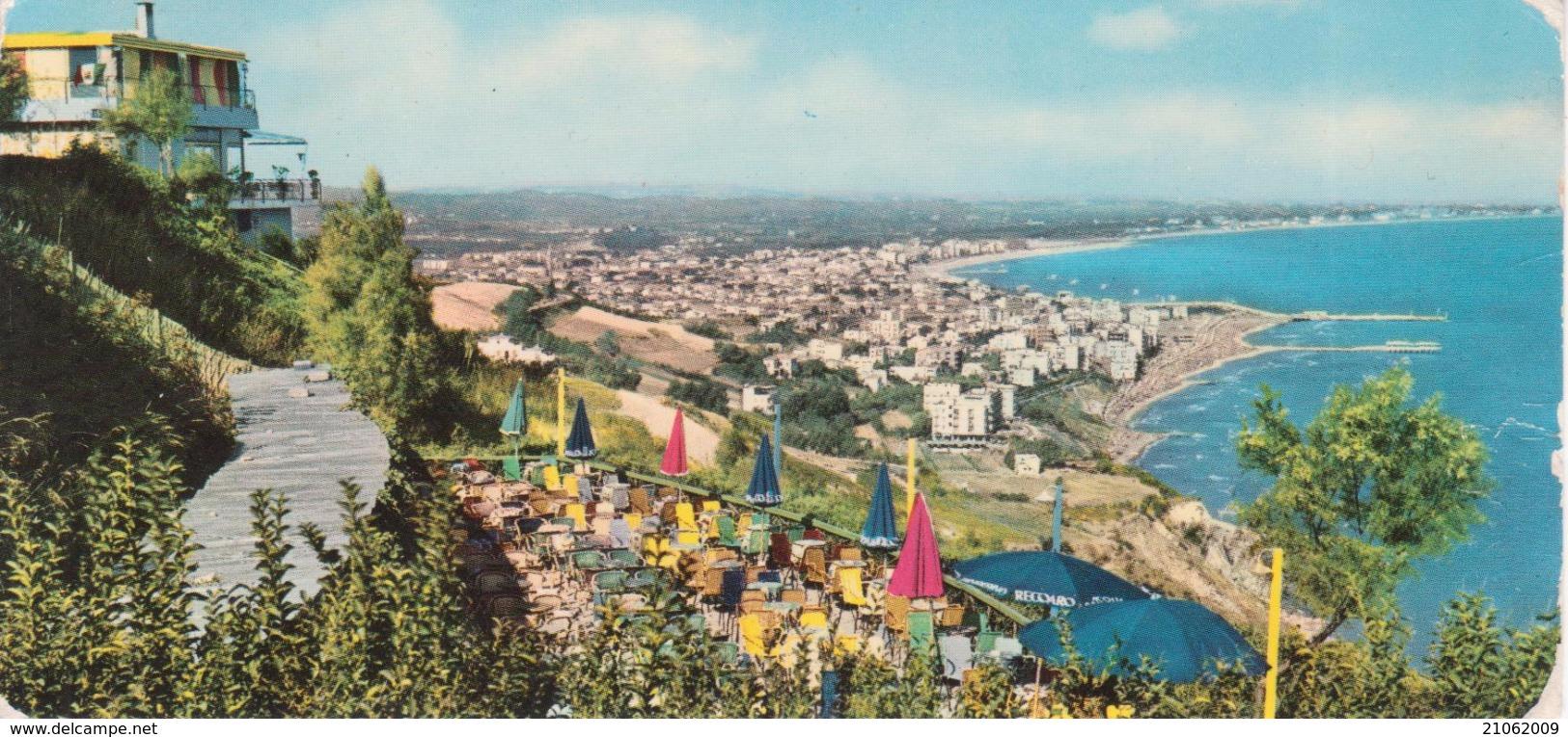 GABICCE Panorama Da Gabicce Monte, Formato 7x15cm - Italia