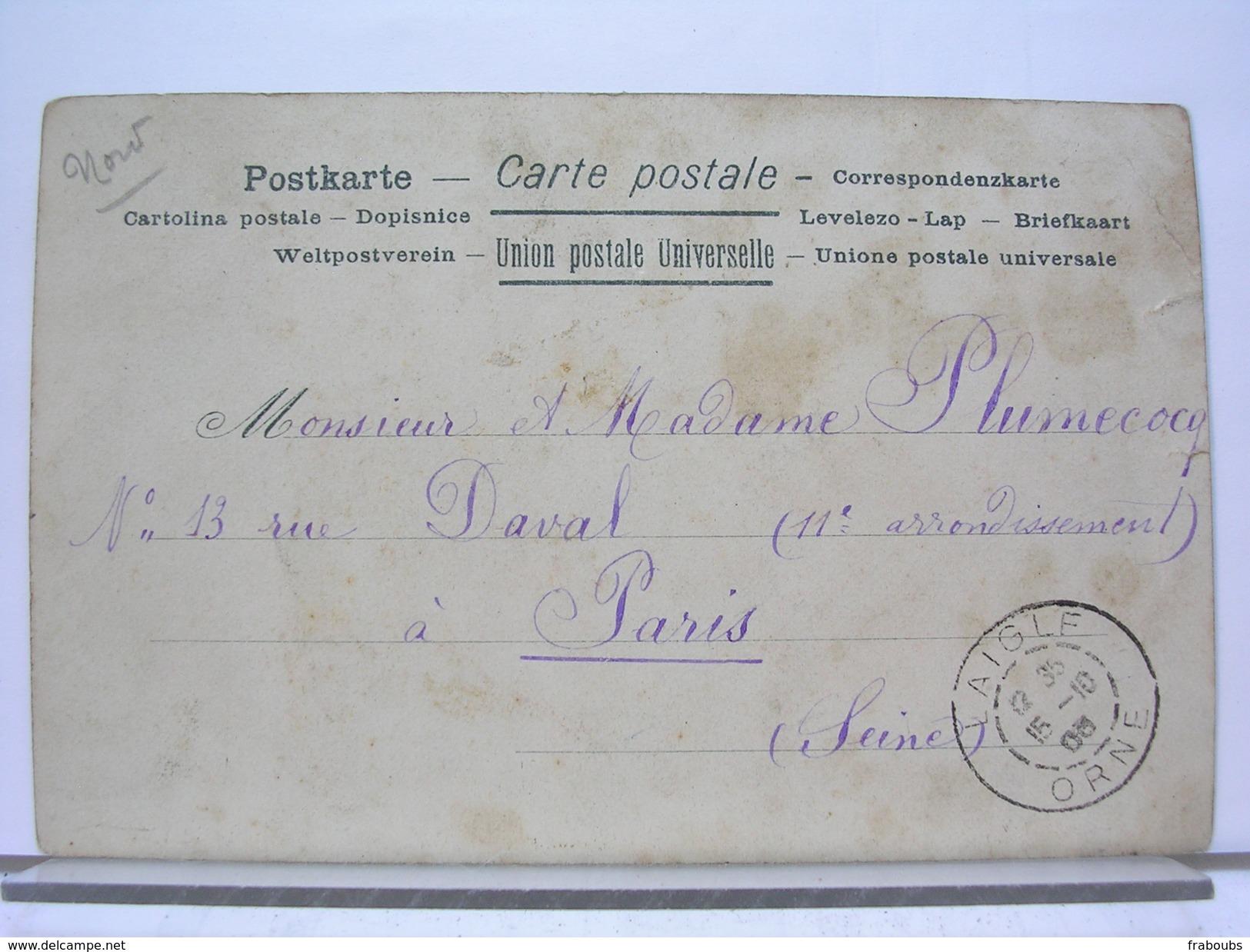59 - LE VIEUX CAMBRAI - PORTE NOTRE DAME - DOS SIMPLE - 1905 - Cambrai