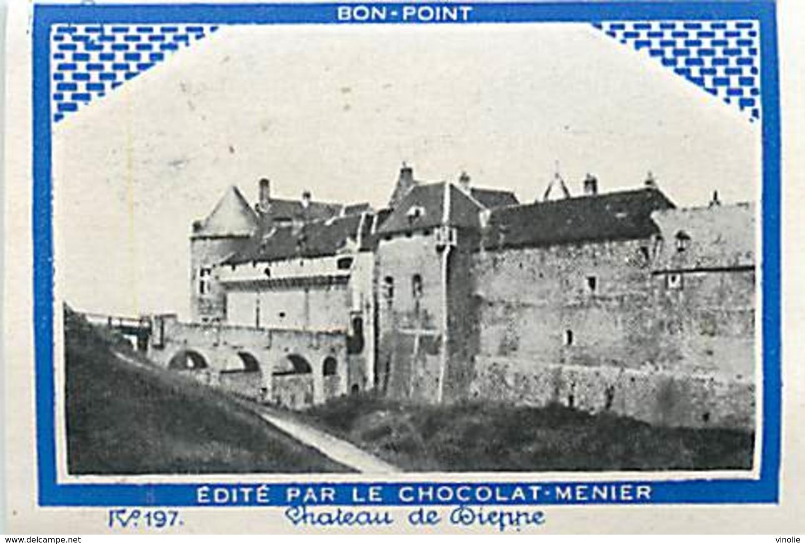 A-17. 5146 : BON-POINT EDITE PAR LE CHOCOLAT MENIER. LE CHATEAU DE DIEPPE. SEINE-MARITIME. - Menier