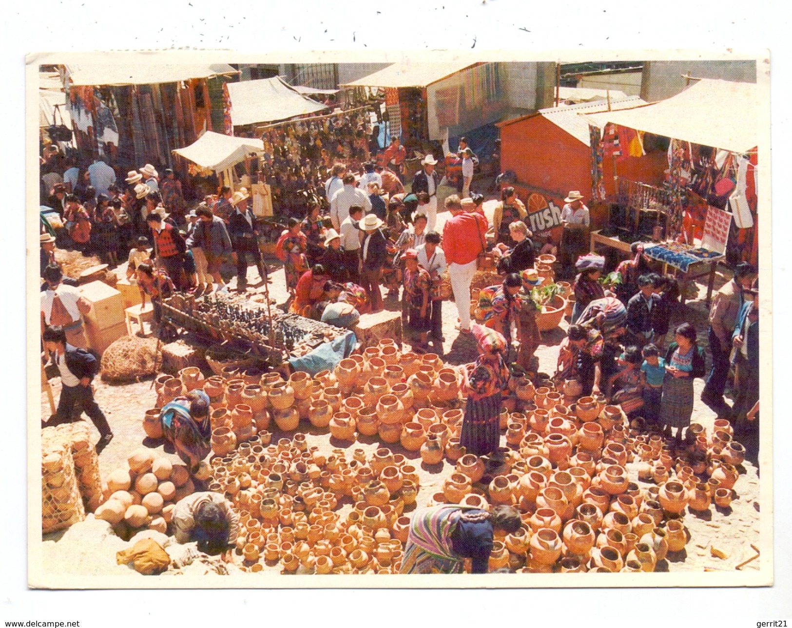 GUATEMALA - CHICHICASTENAGO, Market - Guatemala
