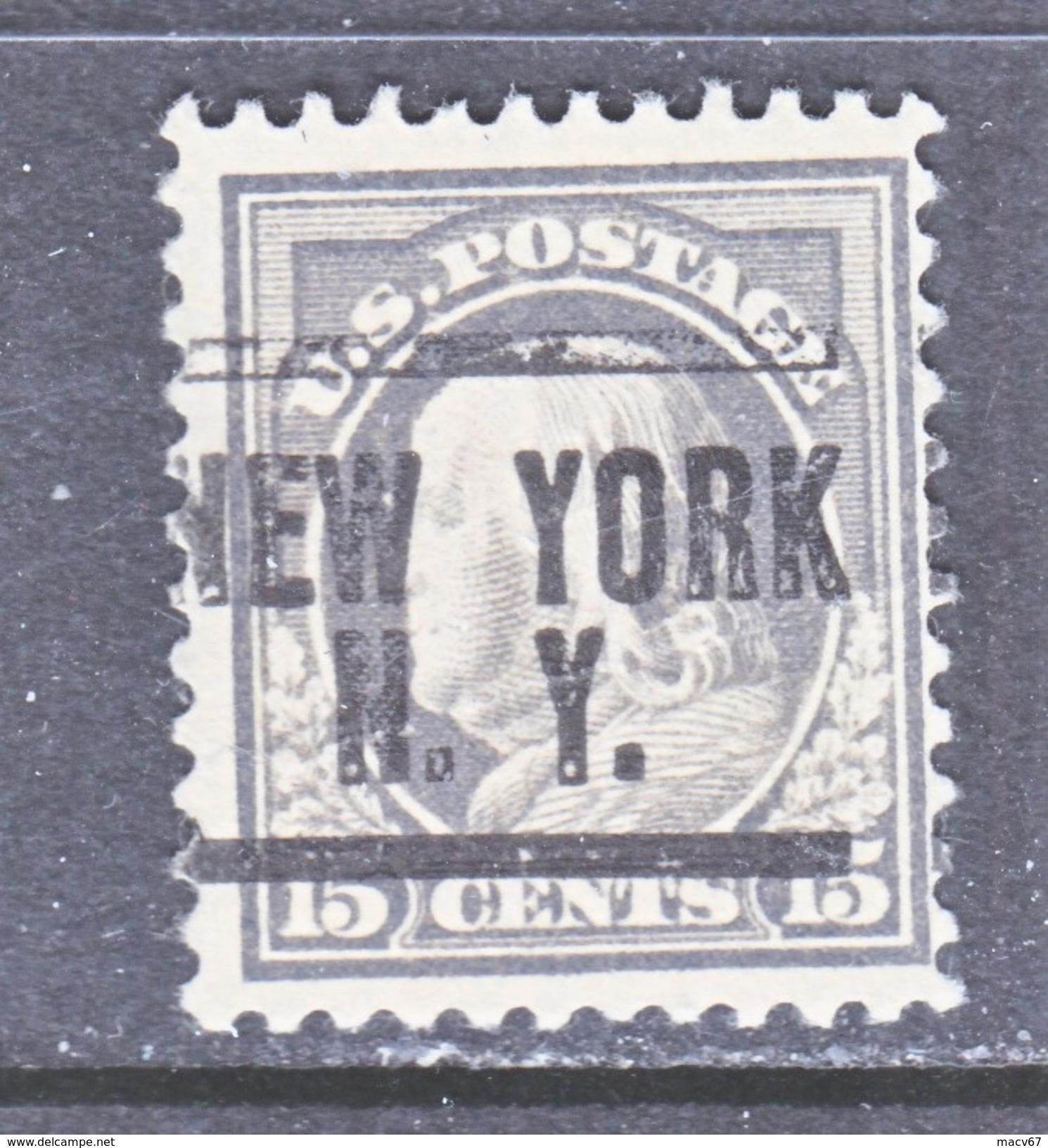 U.S. 514  (o)  FLAT PRESS  NO Wmk. Perf 11  1917-19 Issue - United States