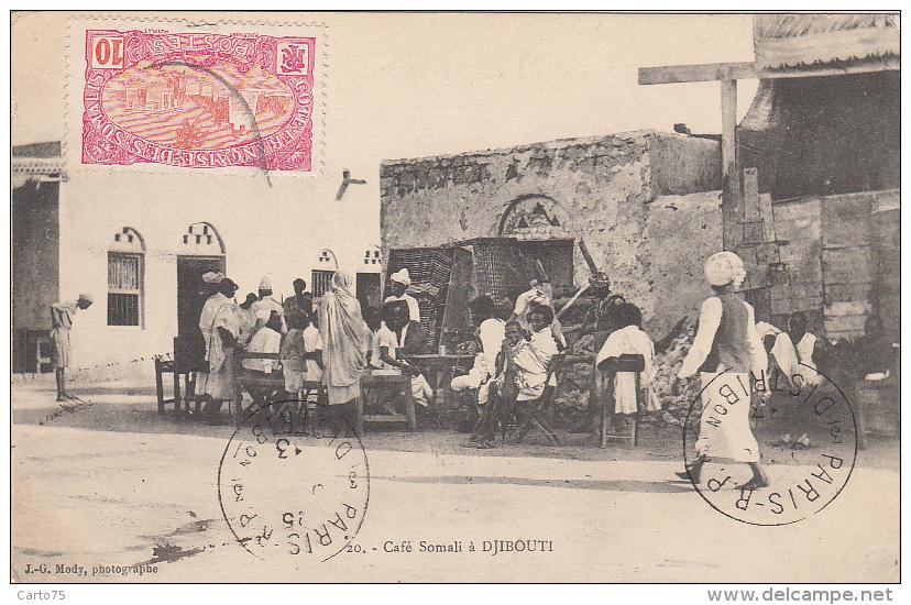 Afrique - Djibouti - Café Somali - 1913 - Djibouti