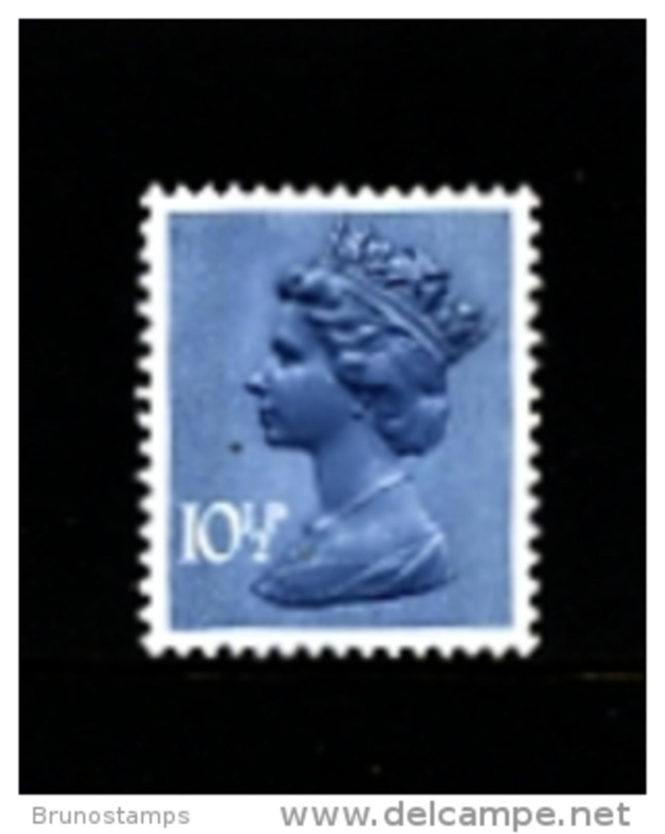 GREAT BRITAIN - 1978  MACHIN  10 1/2p.  2B  MINT NH  SG X891 - 1952-.... (Elisabetta II)