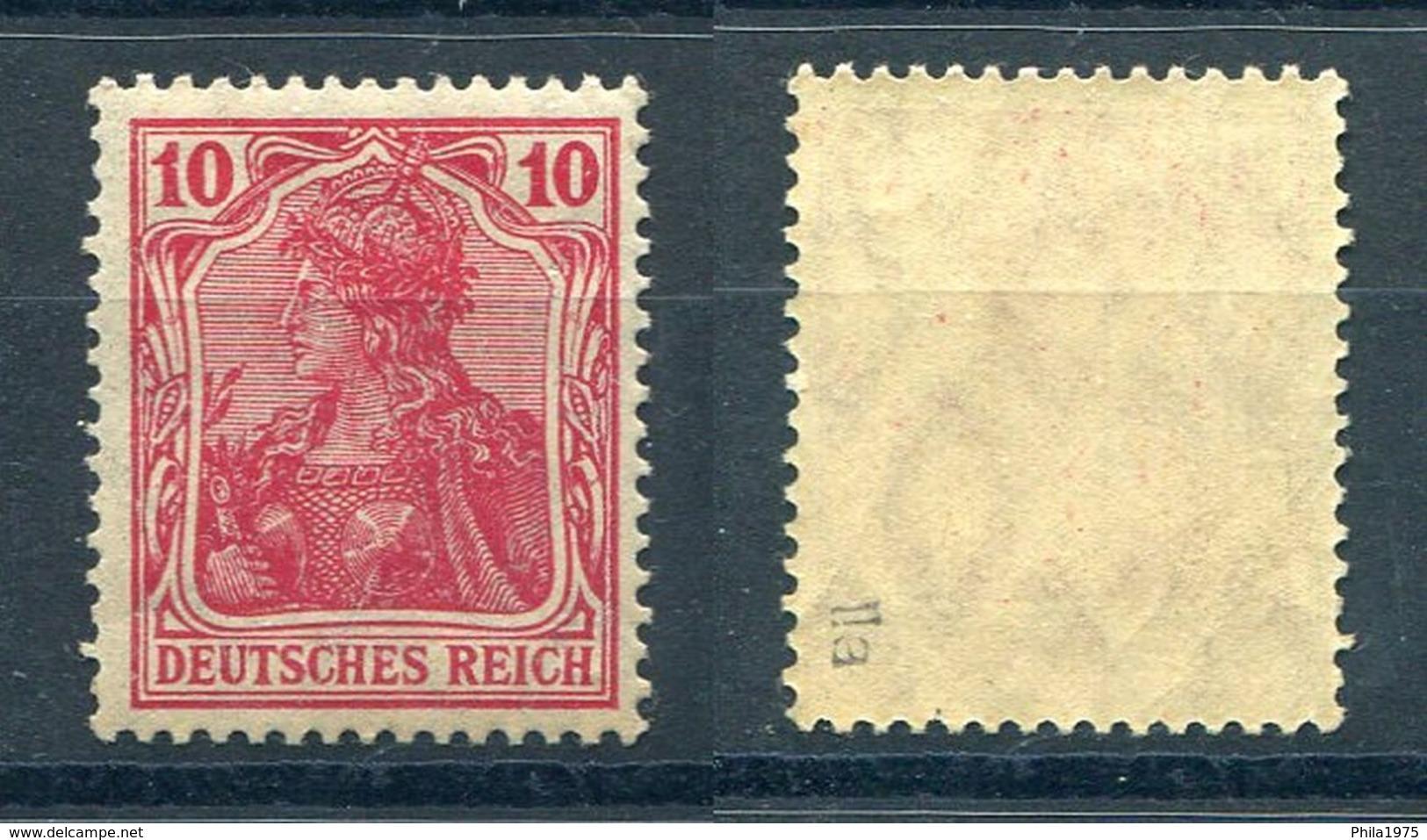 Deutsches Reich Michel-Nr. 86IIa Postfrisch - Geprüft - Ungebraucht