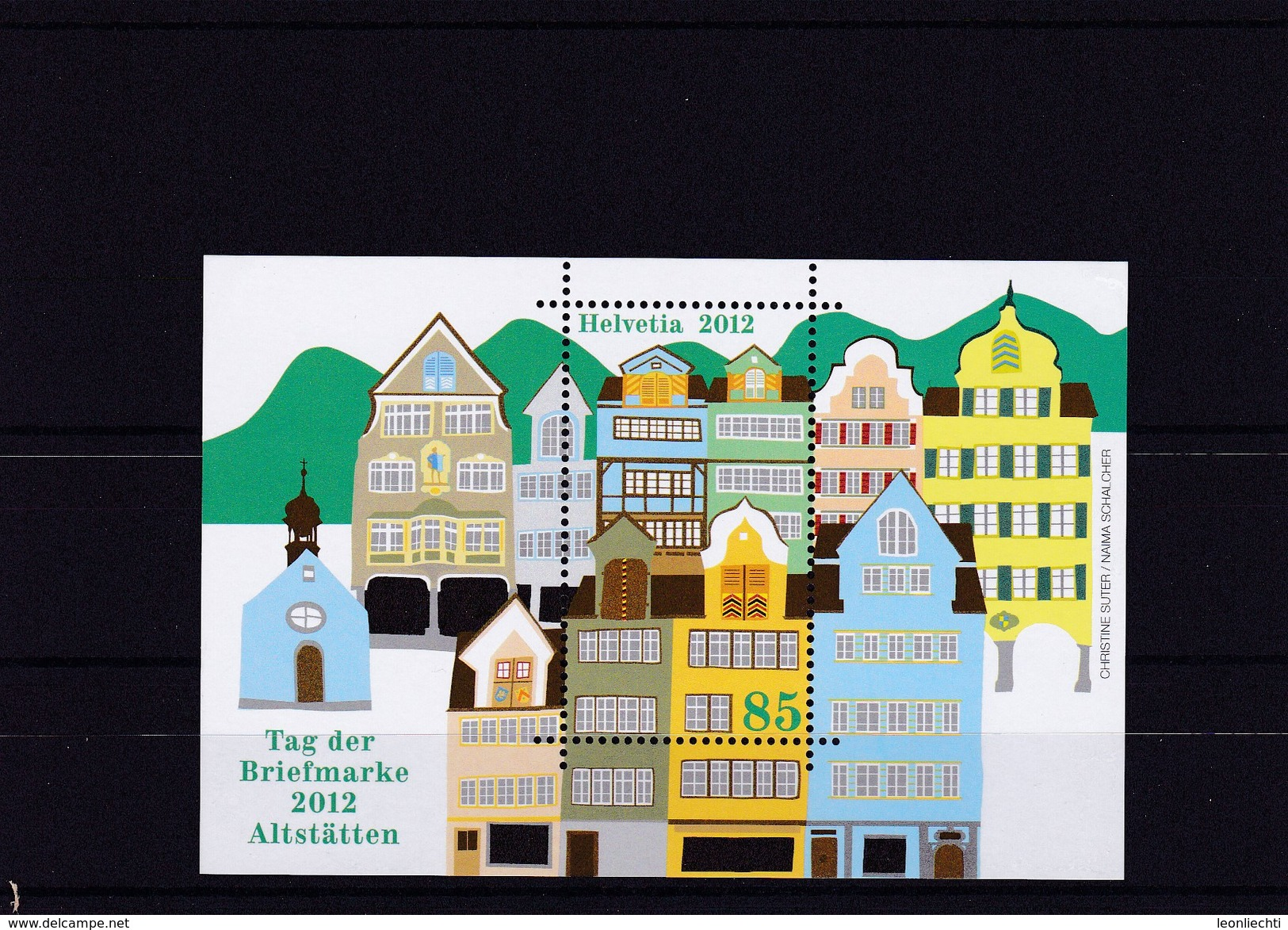 2012. Tag Der Briefmarke.  Mi: 51** - Blocs & Feuillets