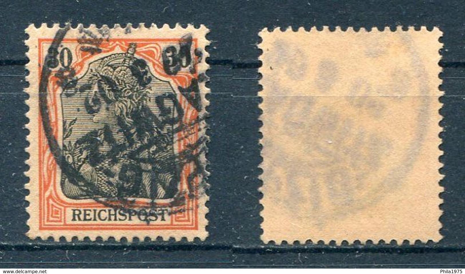 Deutsches Reich Michel-Nr. 59 Gesrtempelt - Gebraucht