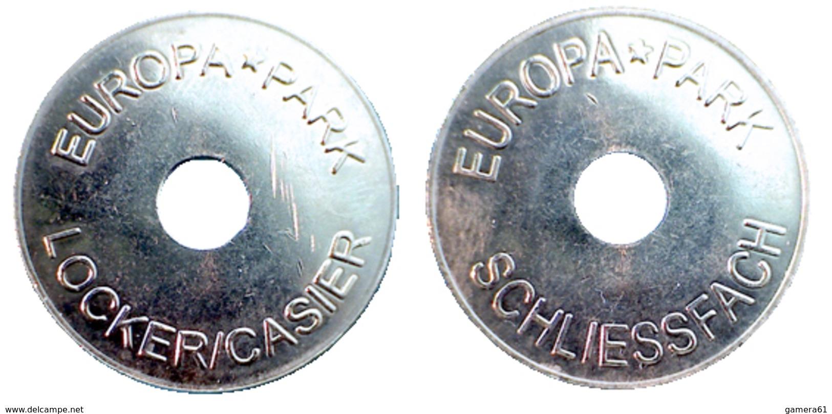 03217 GETTONE TOKEN JETON PARCHEGGIO PARKING EUROPA PARK LOOKER TOKEN HOLED - Zonder Classificatie