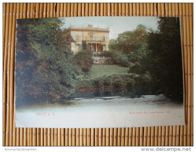 Halle Saale, Blick Nach Der Kunze'schen Villa, Ungelaufen - Halle (Saale)