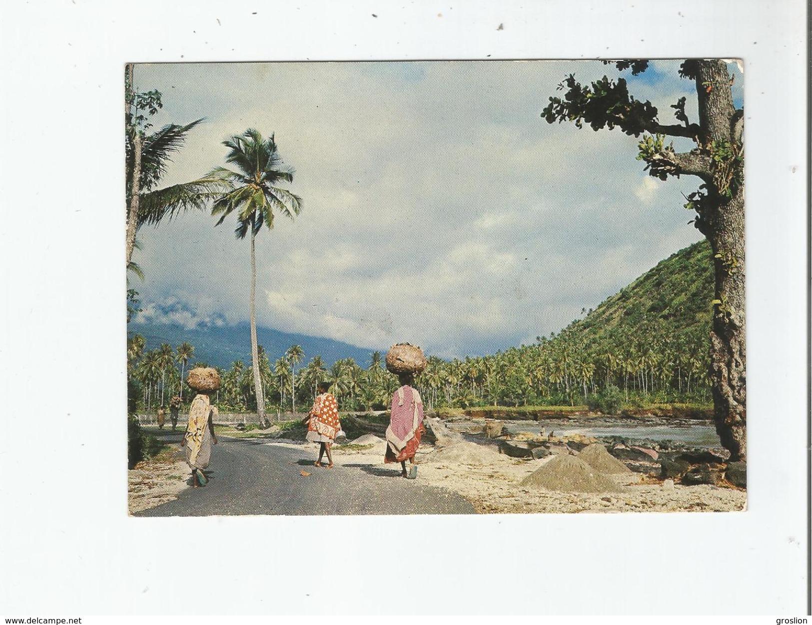 MITSAMIHOULI (GRANDE COMORE) 83 SUR LA ROUTE COTIERE - Comores