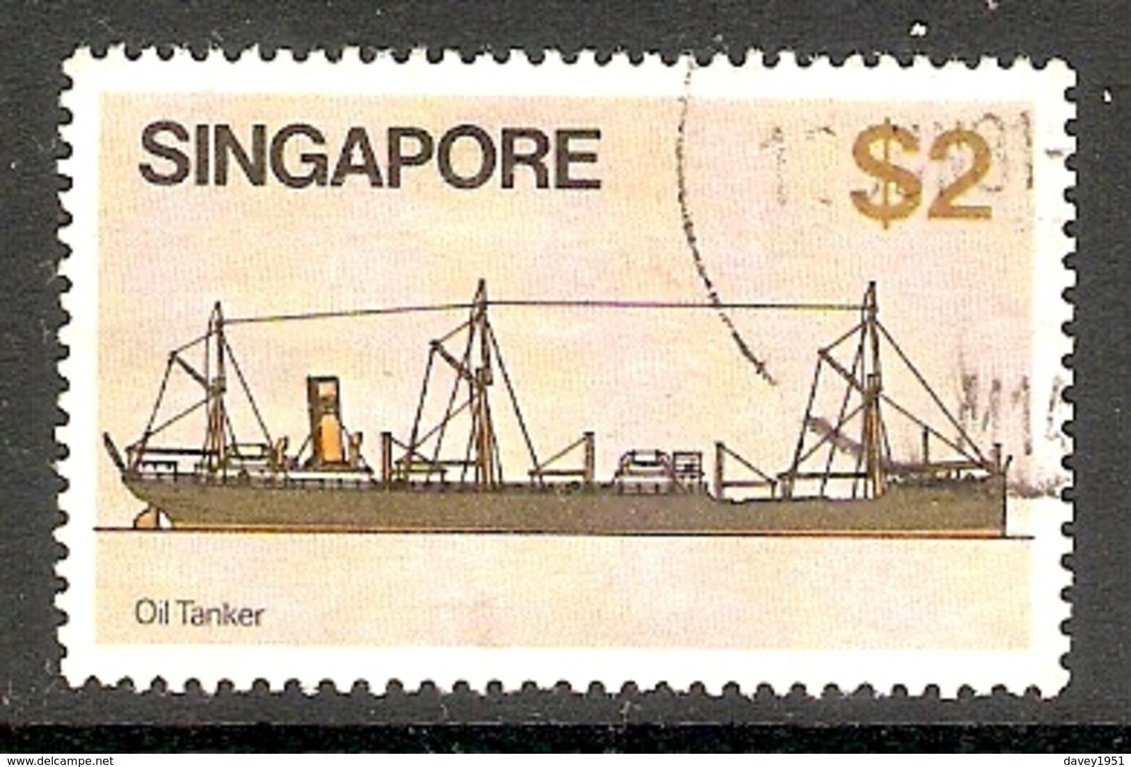 002505 Singapore 1980 $2 FU - Singapore (1959-...)