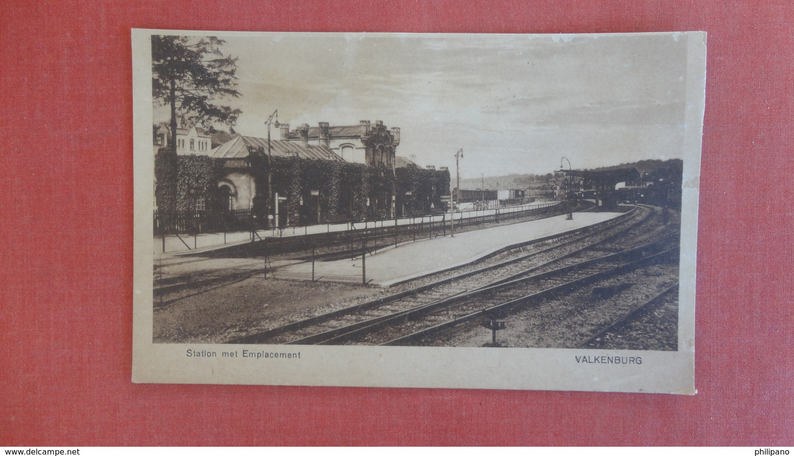 Netherlands Limburg Valkenburg  Train Station -ref 2548 - Valkenburg